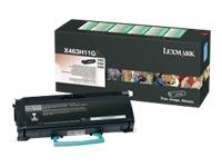 LD Products - à rendement élevé - noir - cartouche de toner (équivalent à : Lexmark X463H11G )