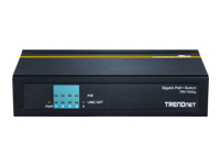 TRENDnet TPE TG50g Switch 4 x 10/100/1000 (PoE+) + 1 x 10/100/1000