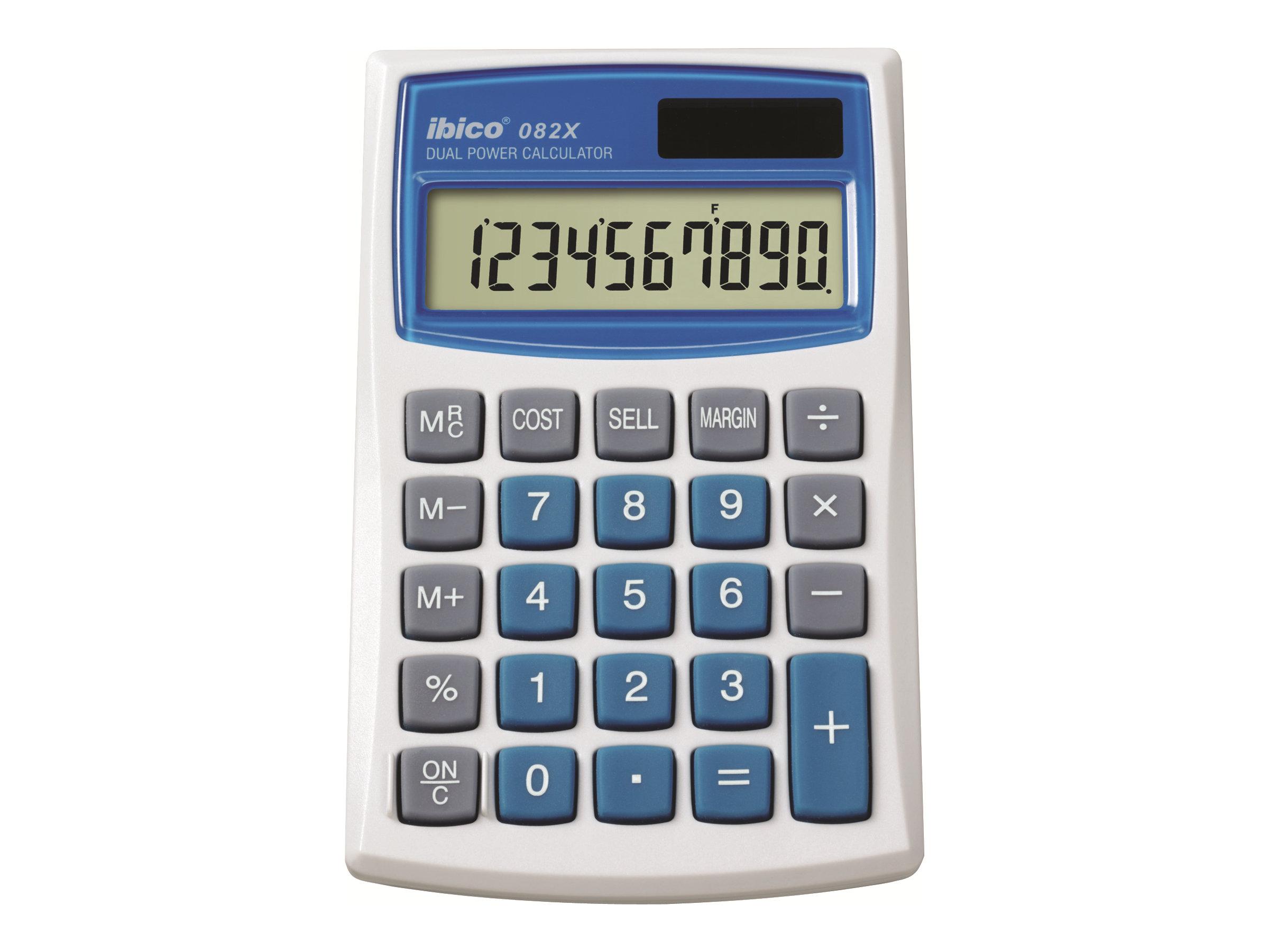 Rexel Ibico 082X - calculatrice de poche