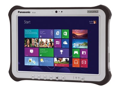 "Panasonic Toughpad FZ-G1 - Tablet - Core i5 6300U / 2.4 GHz - Win 10 Pro 64-bit - 8 GB RAM - 256 GB SSD - 10.1"" IPS touchscreen 1920 x 1200 - HD Graphics 520 - Wi-Fi, Bluetooth - rugged - with Toughbook Preferred"