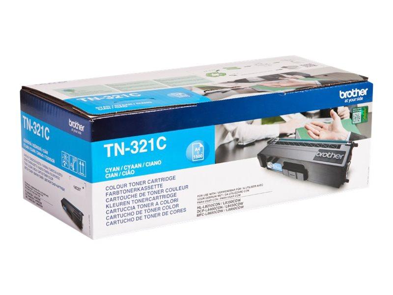 Brother TN321C - cyan - originale - cartouche de toner