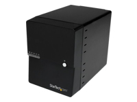 StarTech.com USB 3.0 / eSATA 4-Bay 3.5in SATA HDD Enclosure w/ Fan & UASP