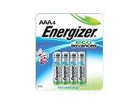 Energizer EcoAdvanced XR92 - batterie - type AAA - Alcaline x 4