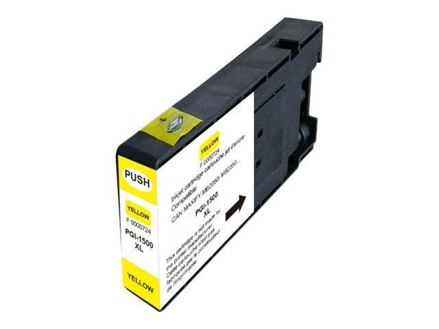 UPrint C-1500XLY - jaune - cartouche d'encre (équivalent à : Canon PGI-1500XL Y)