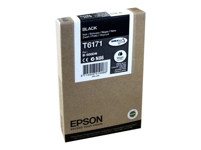 Epson T6171 - haute capacité - noir - original - cartouche d'encre
