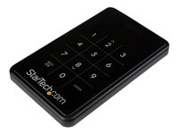 STARTECH - DRIVE ACCESSORIES StarTech.com 2.5in Portable USB 3.0 Encrypted Hard Drive (HDD) EnclosureS2510BU3PW