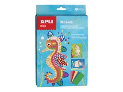 APLI kids Mosaic Sea world - kit de travaux créatifs