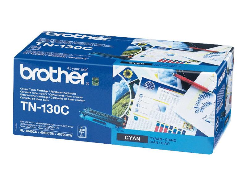 Brother TN130C - cyan - originale - cartouche de toner