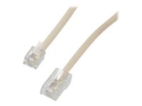 MCL Samar câble téléphonique/réseau - 1 m