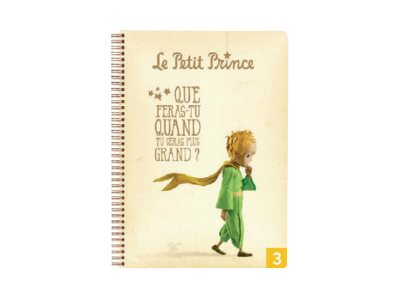 clairefontaine le petit prince notebook pour le travail la maison cahiers de texte scolaires. Black Bedroom Furniture Sets. Home Design Ideas