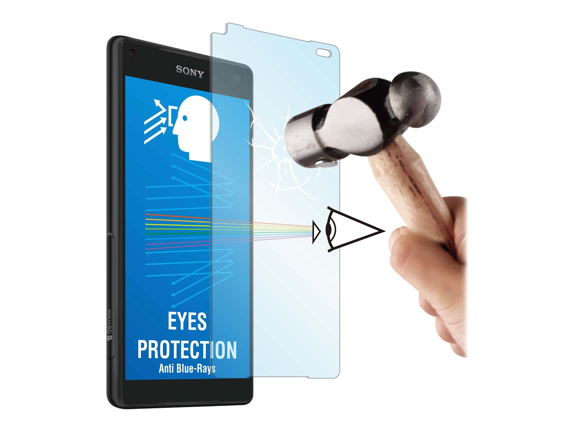 Muvit MFX - 1 film de protection d'écran - verre trempé - pour Sony XPERIA Z5 Compact