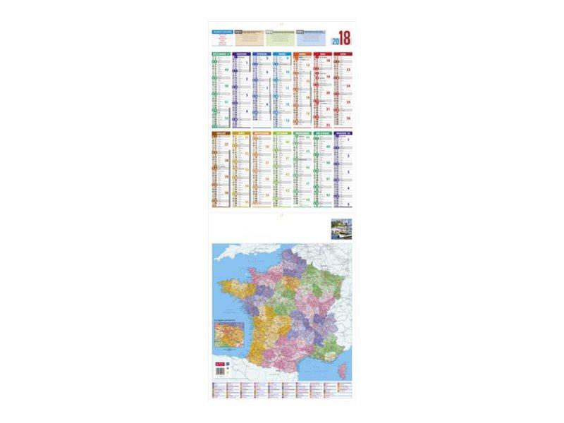 CBG Carte de France - calendrier