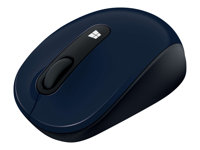 Microsoft Sculpt Mobile Mouse - Mouse - right and left-handed - optical - 3 buttons - wireless - 2.4 GHz - USB wireless receiver - wool blue