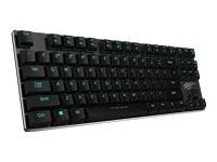 Havit HV-KB390L Tastatur bagbelyst USB Nordisk key switch: Kailh Blue