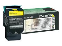 Lexmark - à rendement élevé - jaune - originale - cartouche de toner - LCCP, LRP
