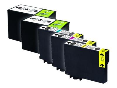 UPrint E - réveil - T27XL - pack de 5 - noir, jaune, cyan, magenta - cartouche d'encre (équivalent à : Epson T2716)