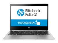 "HP EliteBook Folio G1 - Core m7 6Y75 / 1.2 GHz - Win 10 Pro 64-bit - 8 GB RAM - 256 GB SSD SED, TCG Opal Encryption 2 - 12.5"" touchscreen 3840 x 2160 (Ultra HD 4K) - HD Graphics 515 - Wi-Fi, Bluetooth - kbd: US"