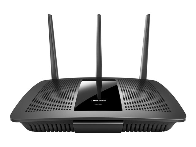 Image of Linksys EA7500 - wireless router - 802.11a/b/g/n/ac - desktop