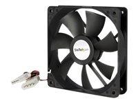 StarTech.com Ventilateur PC à Double Roulement à Billes - Alimentation LP4 - 120 mm