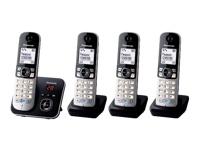 Panasonic KX-TG6824 Trådløs telefon besvarelsessystem med opkalds-ID