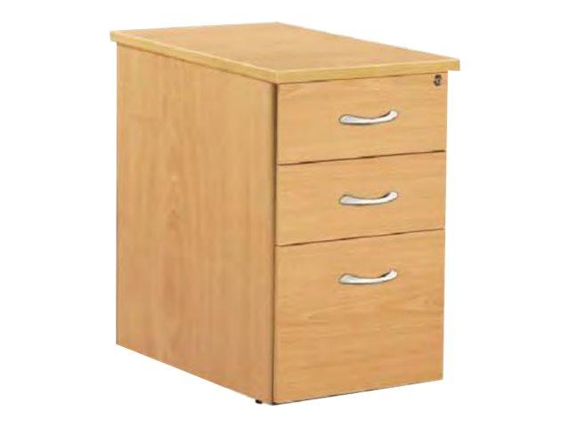 Burocean idra caisson bout de bureau 3 tiroirs 60 cm - Bureau couleur wenge ...