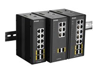 D-Link DIS-300G-8PSW Managed Industrial Switch