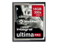 Integral UltimaPro - carte mémoire flash - 16 Go - CompactFlash