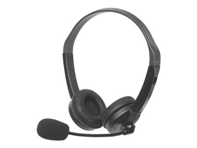 Califone GH131 - Headset - on-ear - black