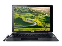 "Acer Switch Alpha 12 SA5-271-356H - Tablet - with detachable keyboard - Core i3 6100U / 2.3 GHz - Win 10 Home 64-bit - 4 GB RAM - 128 GB SSD - 12"" IPS touchscreen 2160 x 1440 (Full HD Plus) - HD Graphics 520 - Wi-Fi - gray - kbd: US International"