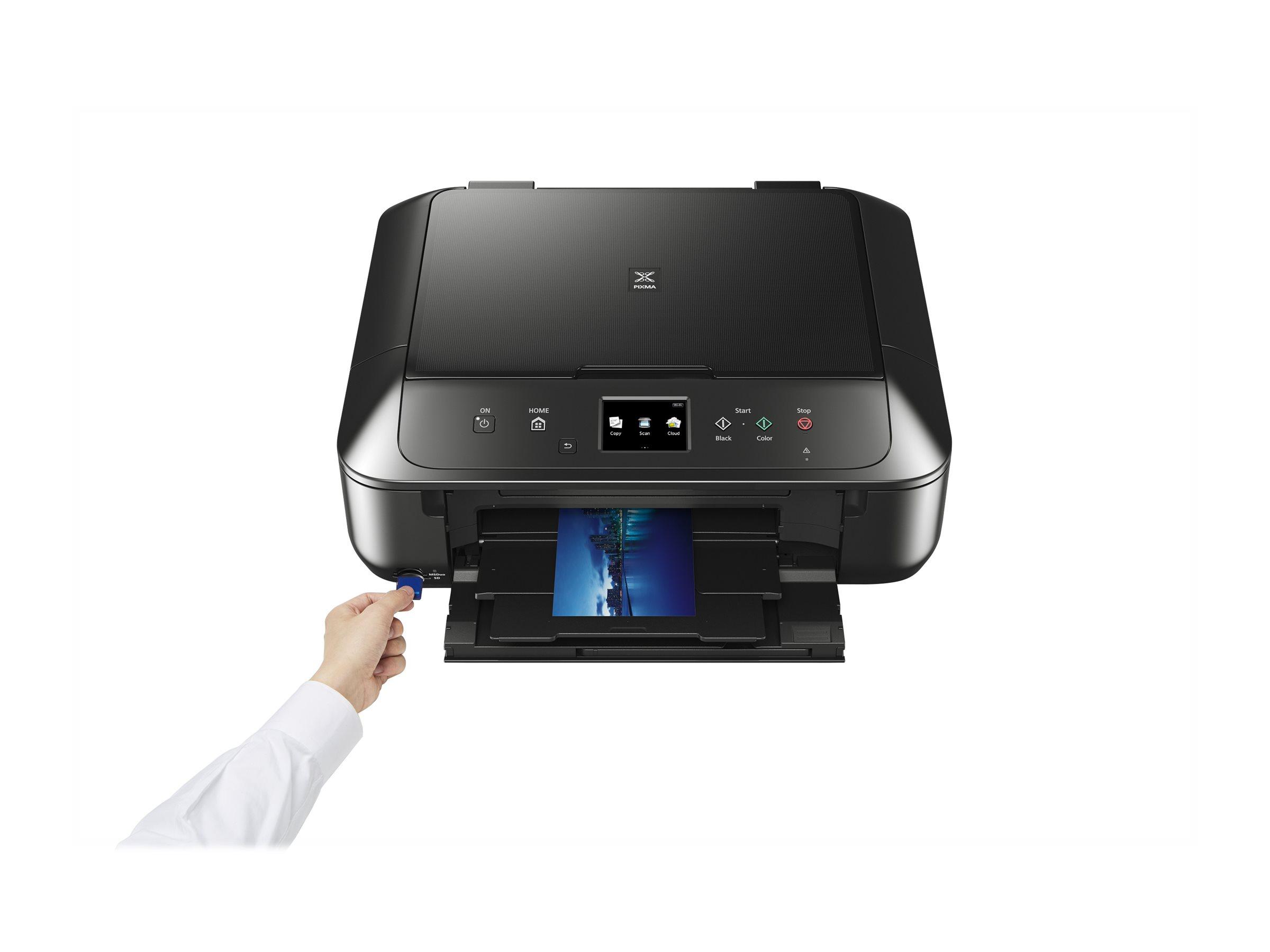 canon pixma mg6850 imprimante multifonctions couleur imprimantes jet d 39 encre. Black Bedroom Furniture Sets. Home Design Ideas