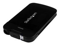 "StarTech.com Boitier en Aluminium USB 3.0 pour Disque Dur 2,5"" SATA III avec UASP et Câble Integre - Boitier DD / SSD 2,5"""