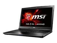 MSI GL72 6QF 406NE Notebook Core i7 6700HQ / 2.6 GHz Windows 10 Home