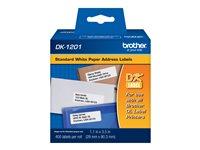 Brother cinta rotuladora DK-1201 (2.9cm x 9.3cm x 400 etiq)
