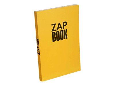 Clairefontaine ZAP BOOK - Bloc d'esquisse - A4 - 160 feuilles - uni - différents coloris disponibles