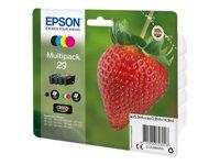 Epson 29 Multipack 4 pakker sort, gul, cyan, magenta original blister