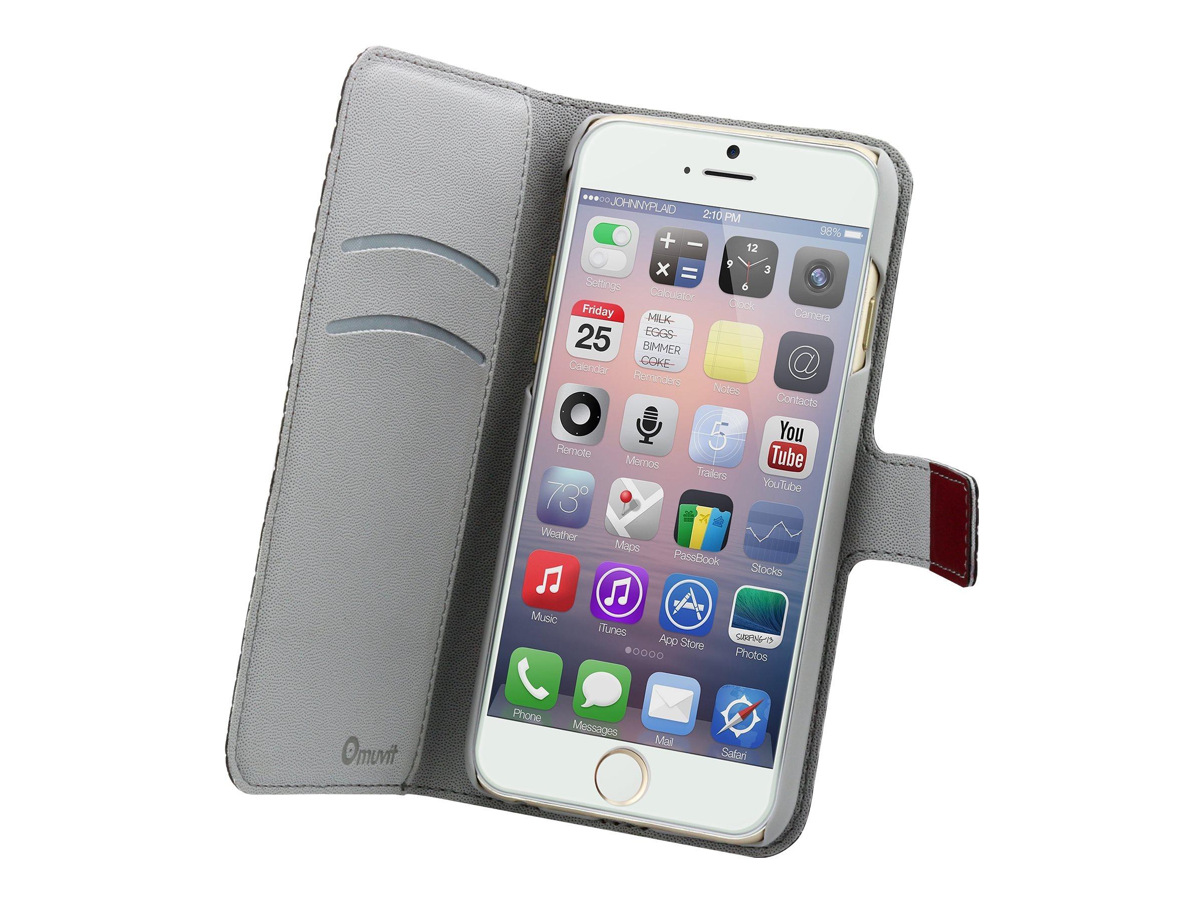 Muvit Wallet Folio - Protection à rabat pour iPhone 6 - différents coloris