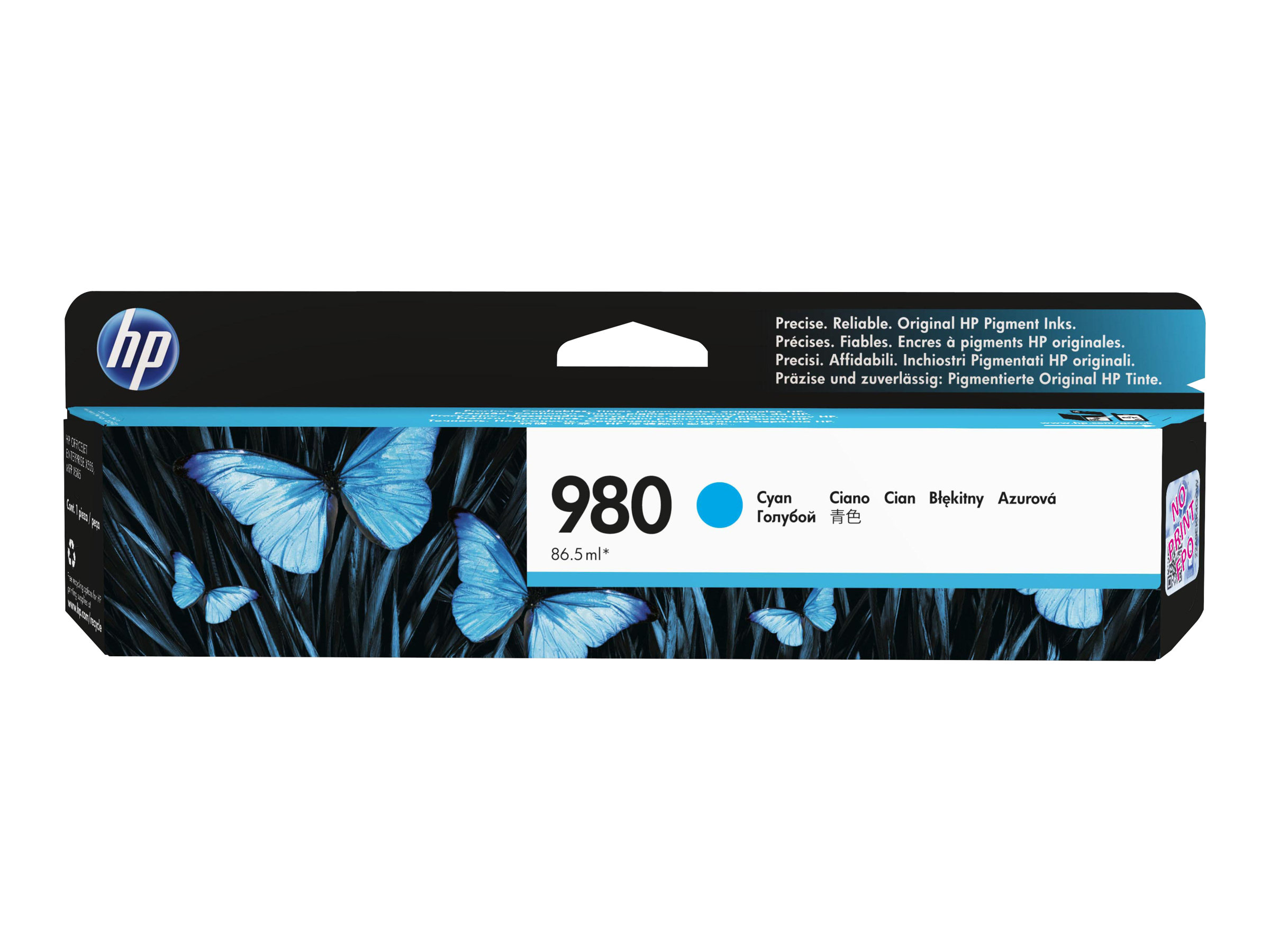 HP 980 - 1 - cyan - cartouche d'encre