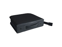 MediaRange Omslag til CD/DVD disks 200 disks syntetisk læder  sort