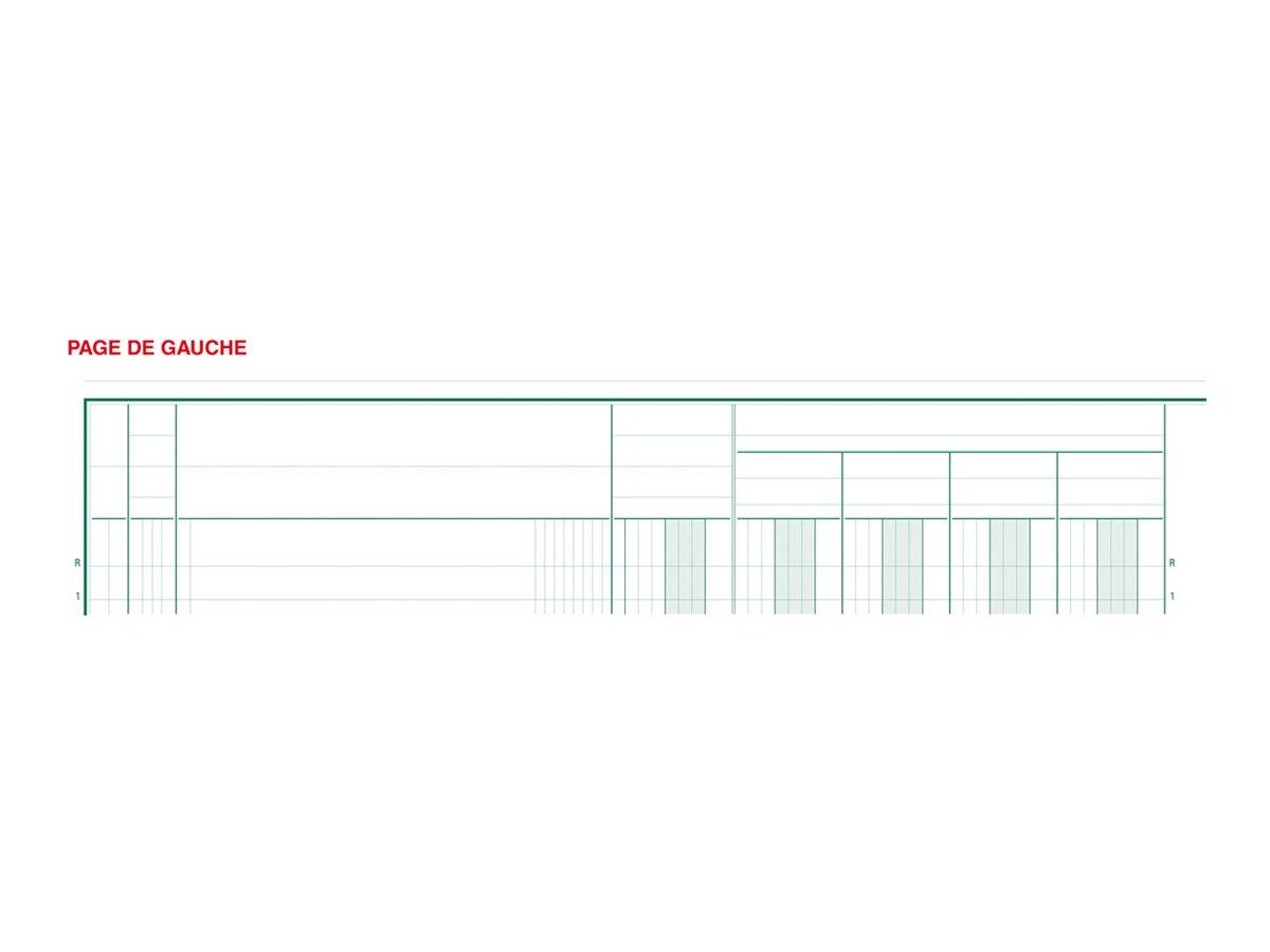 Exacompta - Registre à colonnes - 15 colonnes - 320 x 250 mm - portrait