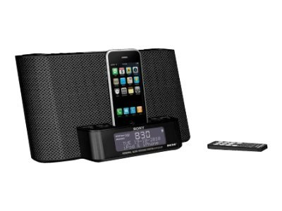 sony xdr ds12ip ipod iphone mp3 speaker charger dock dab fm radio alarm clock ebay. Black Bedroom Furniture Sets. Home Design Ideas