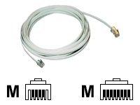 MCL Samar - Câble de téléphone - RJ- 11 (M) pour RJ-45 (M) - disponible en différentes tailles