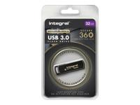 Integral Europe Cl�s USB INFD32GB360SEC3.0