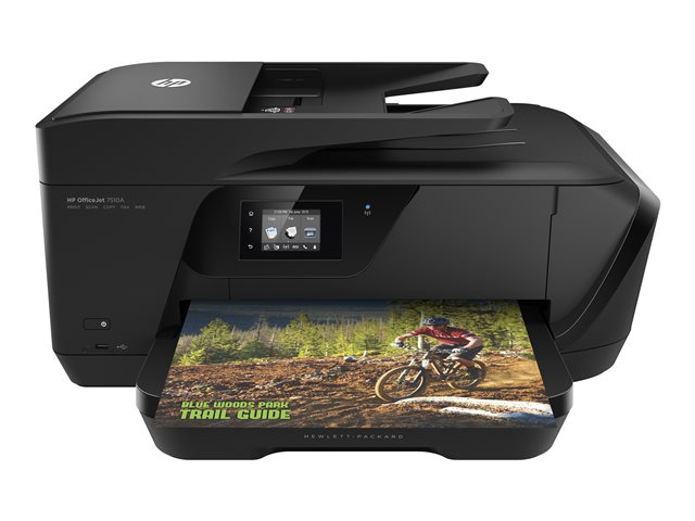 Image of HP Officejet 7510 Wide Format All-in-One - multifunction printer ( colour )