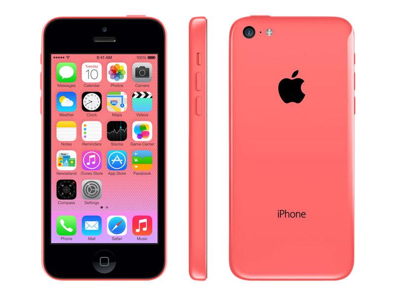 apple iphone 5c rose 4g lte 16 go gsm smartphone reconditionn smartphones. Black Bedroom Furniture Sets. Home Design Ideas