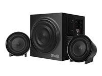 Klip Xtreme KWS-620BK BluBlast Speaker System - Speaker system - 2.1-channel