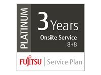 Fujitsu Extensions de garantie UP-36-PLAT-7X60