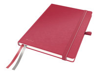 LEITZ, Notebook Complete A5 squared red