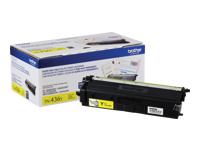 Brother TN-436Y - Super High Yield - yellow - original - toner cartridge - for Brother HL-L8360, HL-L9310, MFC-L8900, MFC-L9570