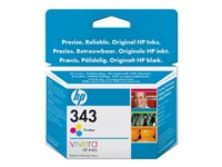 HP No. 343 Tri-colour Inkjet Cartridge (7ml) *, HP No. 343 Tri-