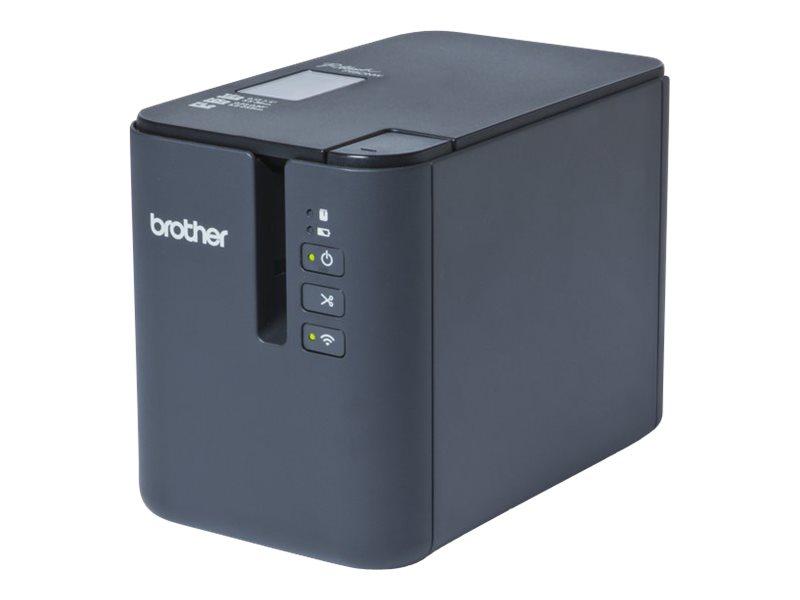 brother p touch pt p900w imprimante d 39 tiquettes monochrome transfert thermique titreuses. Black Bedroom Furniture Sets. Home Design Ideas